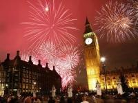 LONDON , NOVA GODINA - 5 dana